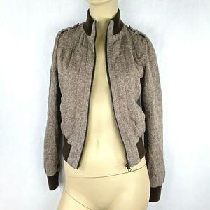HERITAGE 1981 Brown retro jacket Small